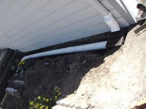 Drainage System Installation Washington.