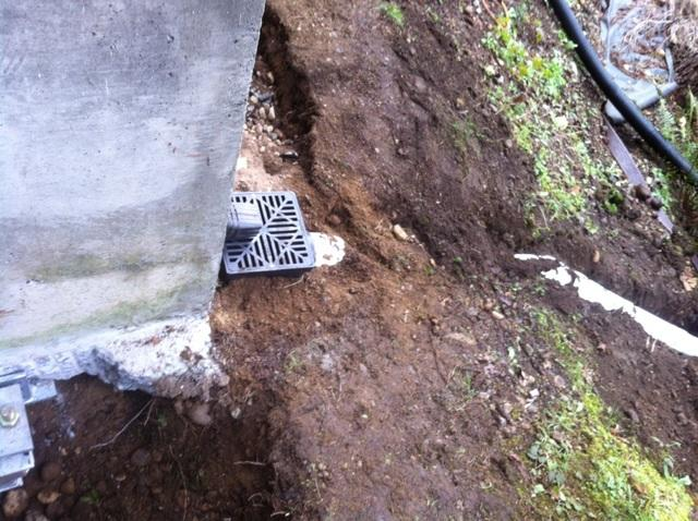 Drainage completed added 10ft extraDrainage completed added 10ft extra.