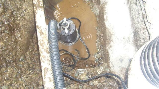 This image highlights the drainage issues.