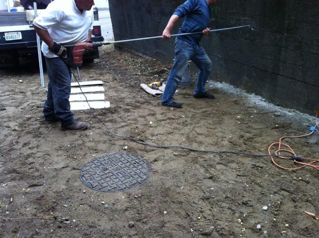 Installing the Geolocks.