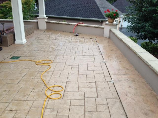 This large slab was slightly uneven and was causing a real concern for the homeowners.