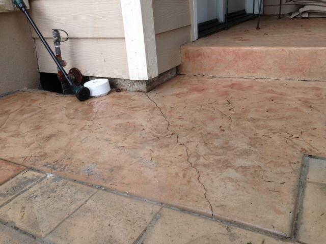 Once the foam is dry it will stabilize the slab and prevent any more cracks from forming.