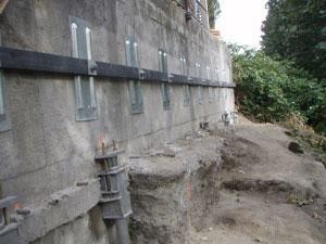 Helical Tiebacks Installation Washington