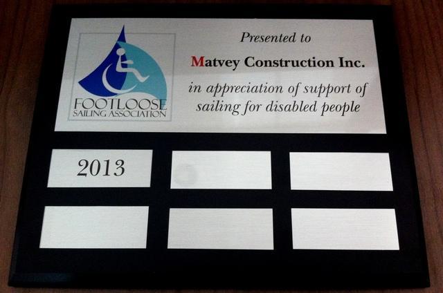 Matvey construction footloose sailing association